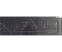 Настенная плитка Arabesco Frame Black glossy 300*900 - шт.