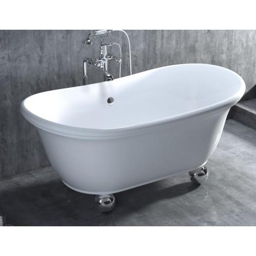 АLBA. Напольная ванна на ножках 1-11314