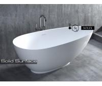 PAOLA 160/77/57s. Отдельностоящая ванна из камня 1-11514S