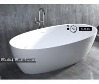 ALDA Nuova solix. Отдельностоящая ванна из камня 1-1L114S