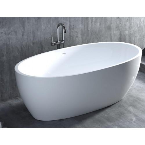 LUCE. Отдельностоящая ванна из камня 1-10114