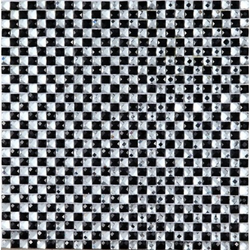 Мозаика Vetro Nero Cristallo 305*305