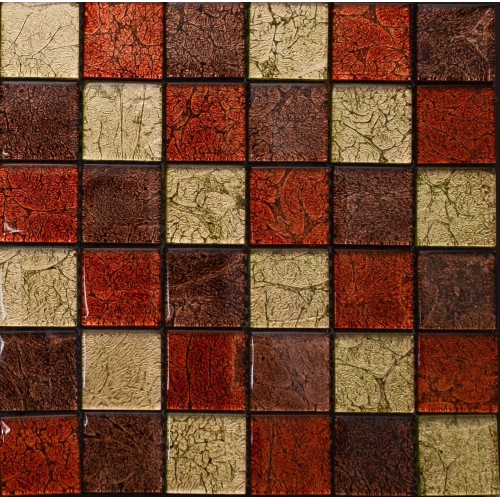 Мозаика JBH-006 (красно золотом) 300*300