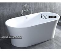 ZOE solix. Отдельностоящая ванна из камня 1-10314S